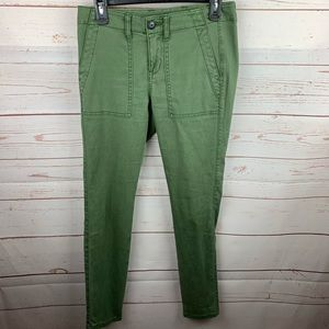 CAbi | The Quest Green Skinny Style Pants